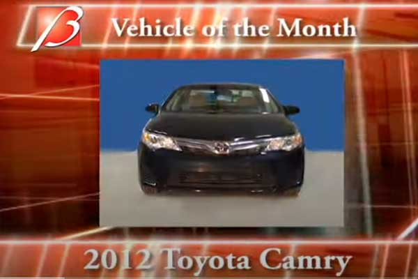 Toyota Camry 2012 TPMS