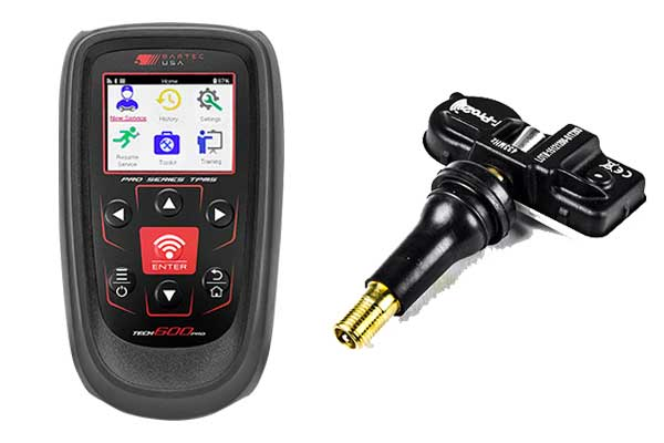 Components of the Direct Toyota TPMS System